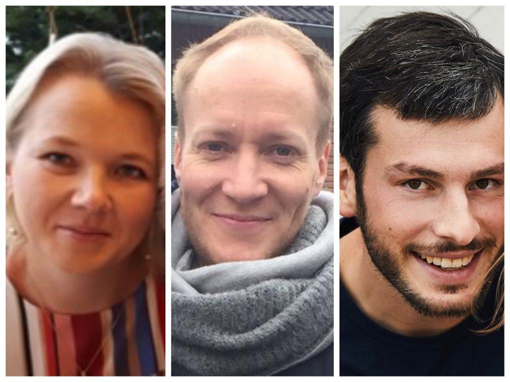 v.l. Anna Köhn, Tom Koethe, Johannes Glienke